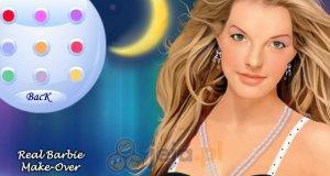 Makijaż Barbie