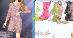 Koronkowe krótkie sukienki