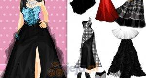Suknie dla kobiety punk