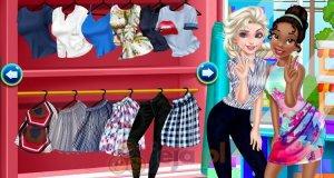 Elsa i Tiana na zakupach
