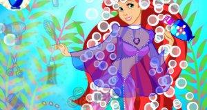 Księżniczka Ariel u fryzjera