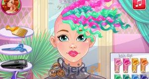 Luksusowa fryzura Audrey