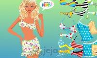 Blondynka na plaży