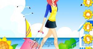 Dziewczyna w podróży