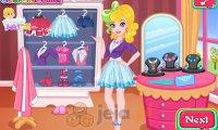 Barbie i ciasto truskawkowe