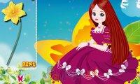 Księżniczka na kwiatku