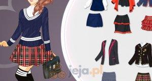 Zimowy mundurek szkolny