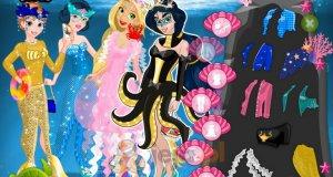 Księżniczki Disneya i morska parada
