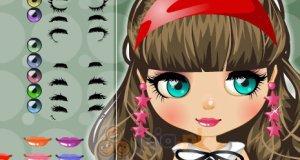 Makijaż laleczki