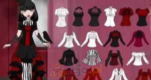 Kreator postaci: Miss Drakula