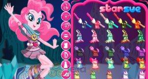Pinkie Pie w lesie Everfree