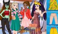 Księżniczki i czarne charaktery na zakupach
