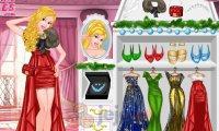 Księżniczki i bal bożonarodzeniowy