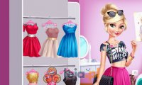 Elsa i Barbie na podwójnej randce