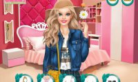 Wiosenna kreacja Barbie