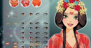 Chiński makijaż ślubny