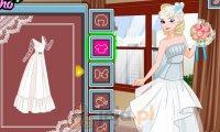 Elsa i ślub w stylu retro
