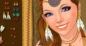 Dziewczyna plemienia
