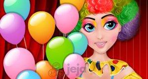 Makijaż urodzinowego klauna