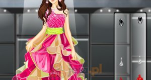 Nastolatka na konkursie piękności