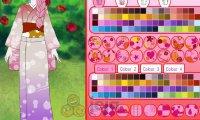 Projektowanie kimona