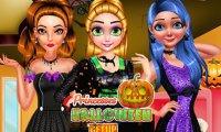Księżniczki świętują Halloween