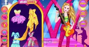 Barbie i rockowy styl