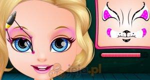 Malunki na twarzy
