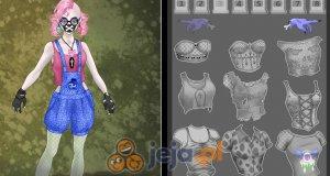 Kreator postaci: Pastelowy zombie