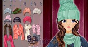 Ciepłe czapki i szaliki