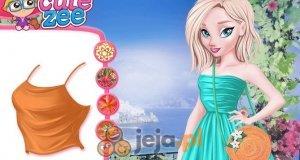 Elsa i Anna na feriach