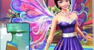 Księżniczki Barbie - puzzle