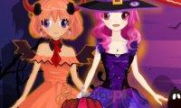 Halloweenowe bliźniaczki