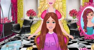 Salon fryzjerski Barbie