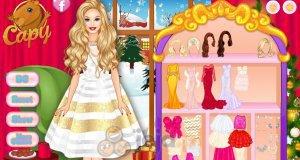 Barbie i powitanie Nowego Roku