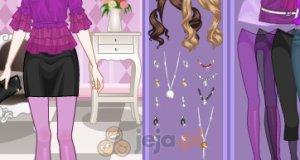 Dziewczyna w fiolecie
