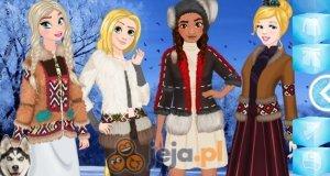 Księżniczki i moda eskimoska