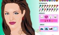 Makijaż Angeliny Jolie