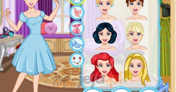 Makijaż Księżniczki Disneya Ubieranki Jejapl