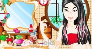 Makijaż Mulan