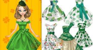 Barbie na zielono