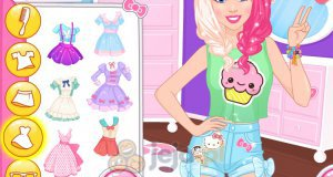 Barbie styl kawaii vs. rock