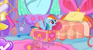 Udekoruj pokój Rainbow Dash