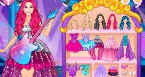 Barbie - gwiazda glam popu