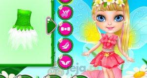 Mała Barbie w salonie wróżek