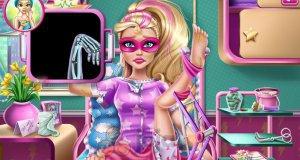 Super Barbie w szpitalu