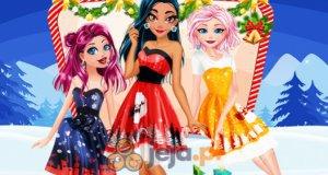 Księżniczki na święta