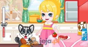 Mała Anna i piesek