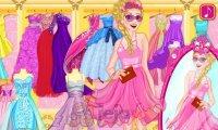 Jasnowłose księżniczki na zakupach