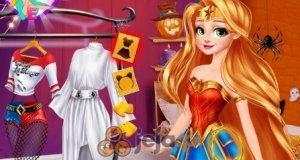 Roszpunka i Moana na Hallowen